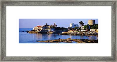 The James Joyce Tower, Sandycove, Co Framed Print by The Irish Image Collection