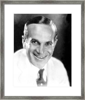 The Jazz Singer, Al Jolson, 1927 Framed Print by Everett