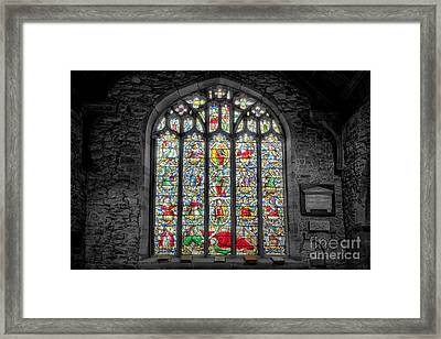 The Jesse Window  Framed Print by Adrian Evans