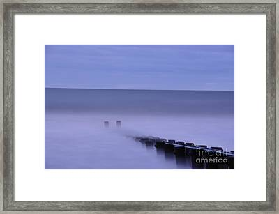Framed Print featuring the photograph The Jetty by Tamera James
