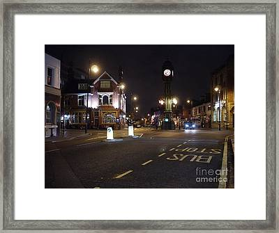 The Jewellery Quarter Framed Print by John Chatterley