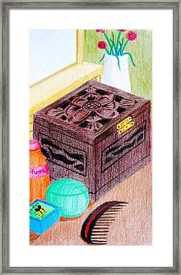 The Jewelry Box Framed Print by Adam Wai Hou