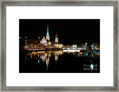 The Jewels Of Reflection Framed Print