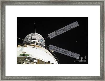 The Johannes Kepler Automated Transfer Framed Print by Stocktrek Images