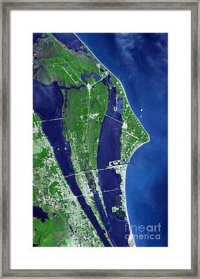 The John F. Kennedy Space Center Framed Print by Stocktrek Images
