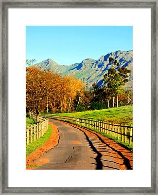 The Journey Framed Print by Michael Durst