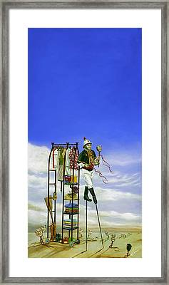 The Journey Of A Performer Framed Print by Cindy D Chinn
