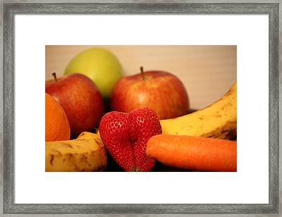 The Joy Of Fruit At Mid-day Framed Print by Andrea Nicosia
