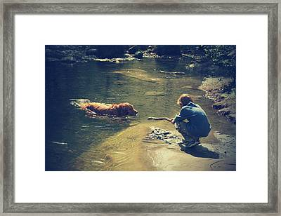 The Joys Of Innocence Framed Print by Laurie Search