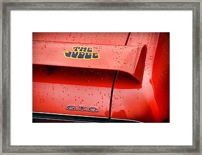 The Judge Pontiac Gto Framed Print by Gordon Dean II