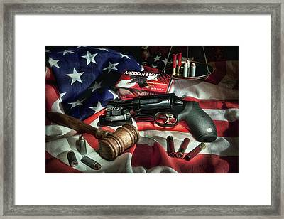 The Judge Framed Print by Tom Mc Nemar