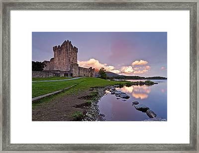 The Keep Framed Print by Brendan O Neill