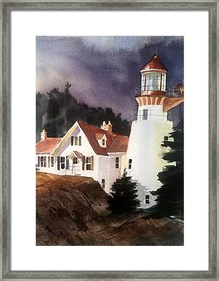 The Keeper Framed Print by Don F  Bradford