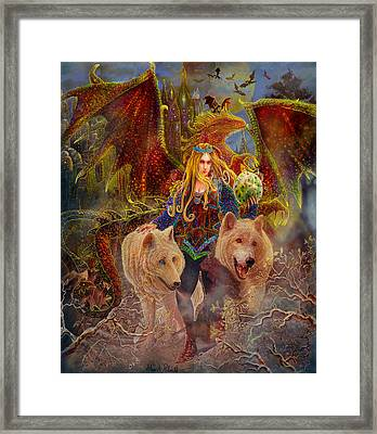 The Keeper Of The Egg Framed Print by Steve Roberts