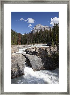 The Kicking Horse River Winds Framed Print by Taylor S. Kennedy