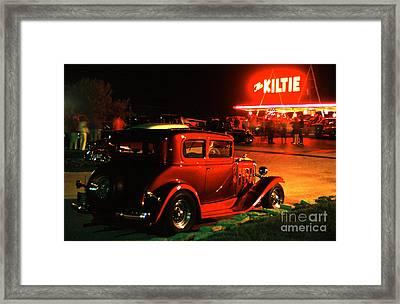 The Kiltie Framed Print