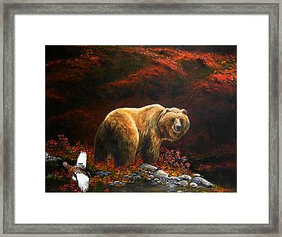 The King Of Blueberry Hill Framed Print by Scott Thompson