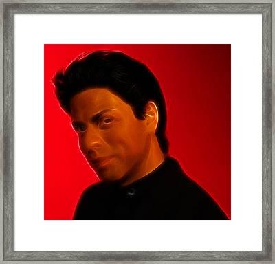 The King Of Bollywood - Shahrukh Khan - Shah Rukh Khan - Baadshah Of Bollywood - King Khan -  Framed Print by Lee Dos Santos