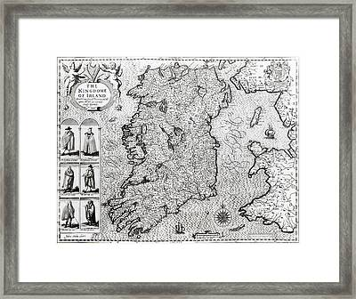 The Kingdom Of Ireland Framed Print