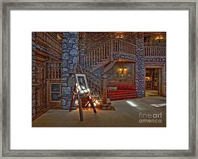 The King's Living Room Framed Print