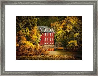 The Kingston Mill Framed Print