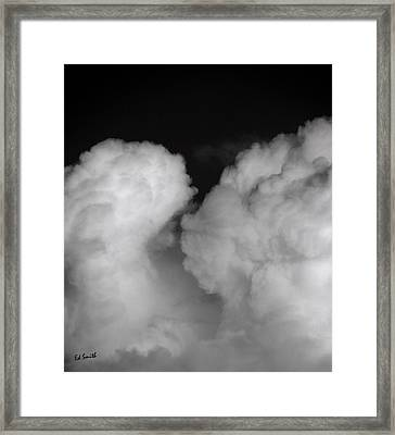 The Kiss Framed Print by Ed Smith