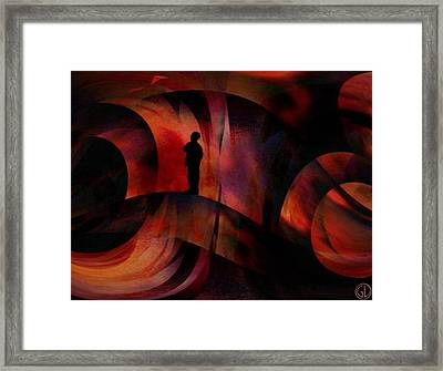 The Kite Framed Print by Gun Legler