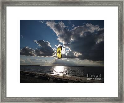 The Kite Framed Print by Rrrose Pix