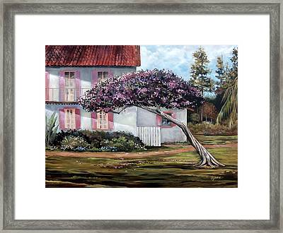 The Kite Tree Framed Print