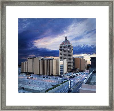 The Kodak Eastman Headquarters Building Framed Print by Christian Scully