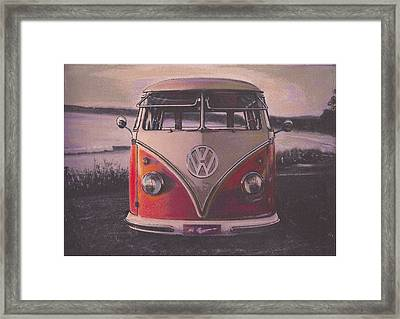 The Lakes Framed Print by Sharon Poulton