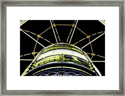 The Lantern Room Framed Print by MaryJane Armstrong