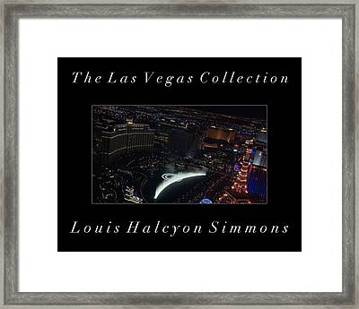 The Las Vegas Collection Framed Print by Louis Simmons