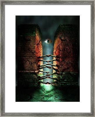 Framed Print featuring the photograph The Last Gate by Mariusz Zawadzki