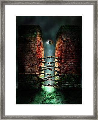 The Last Gate Framed Print