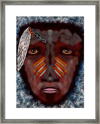The Last Indian Dream Framed Print by Mathieu Lalonde