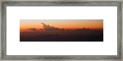 The Last Light Framed Print by Michael Braxenthaler