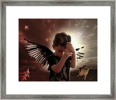 The Last Messenger Framed Print
