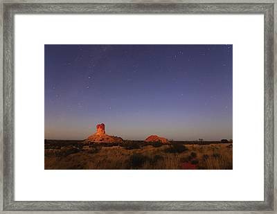 The Last Of The Night Framed Print by Paul Svensen