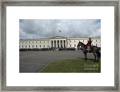 The Last Rehearsal Of The Sovereigns Framed Print