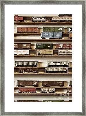 The Last Stop Framed Print