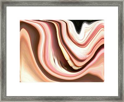The Laugh Framed Print