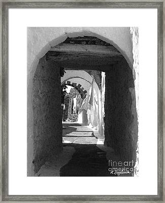The Laundry Framed Print by Robin Ziegelbaum