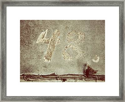 The Laws Framed Print by Odd Jeppesen