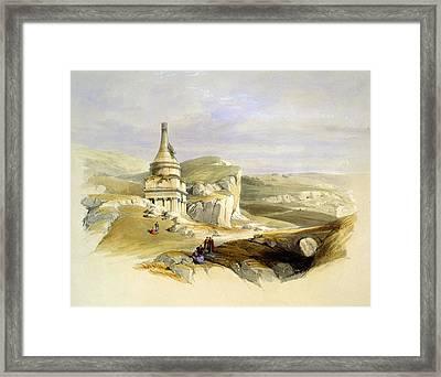 The Legendary Tomb Of David Son Framed Print by Munir Alawi