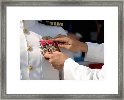 The Legion Of Merit Medal Framed Print by Stocktrek Images