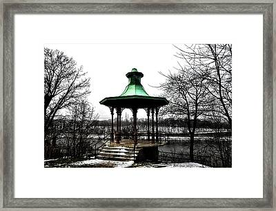 The Lemon Hill Gazebo - Philadelphia Framed Print by Bill Cannon