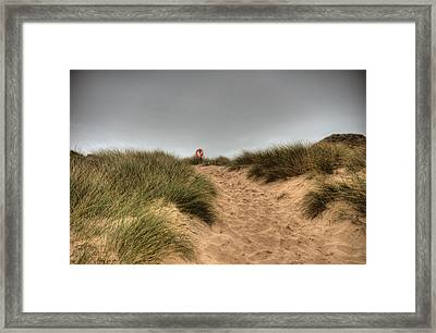 The Lifebelt 2 Framed Print by Steve Purnell