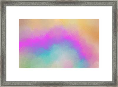 The Light Above Framed Print