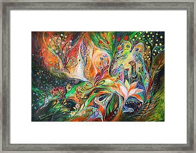 The Light And Wind Framed Print by Elena Kotliarker
